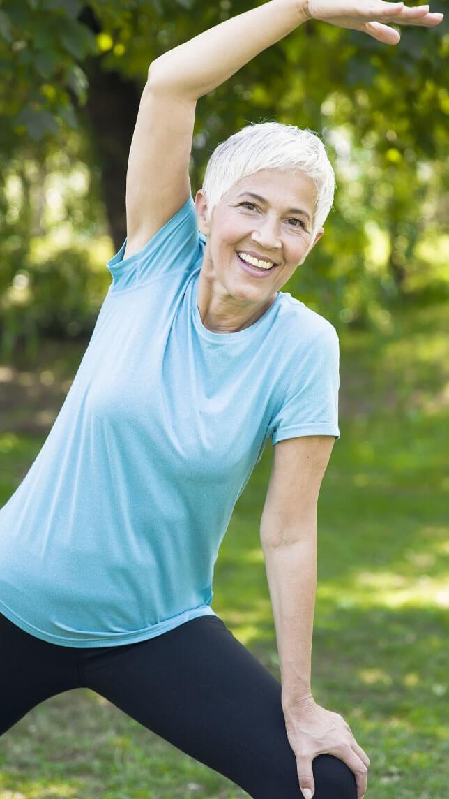 Michigan Pain Clinic Woman Doing Yoga Free of Pain
